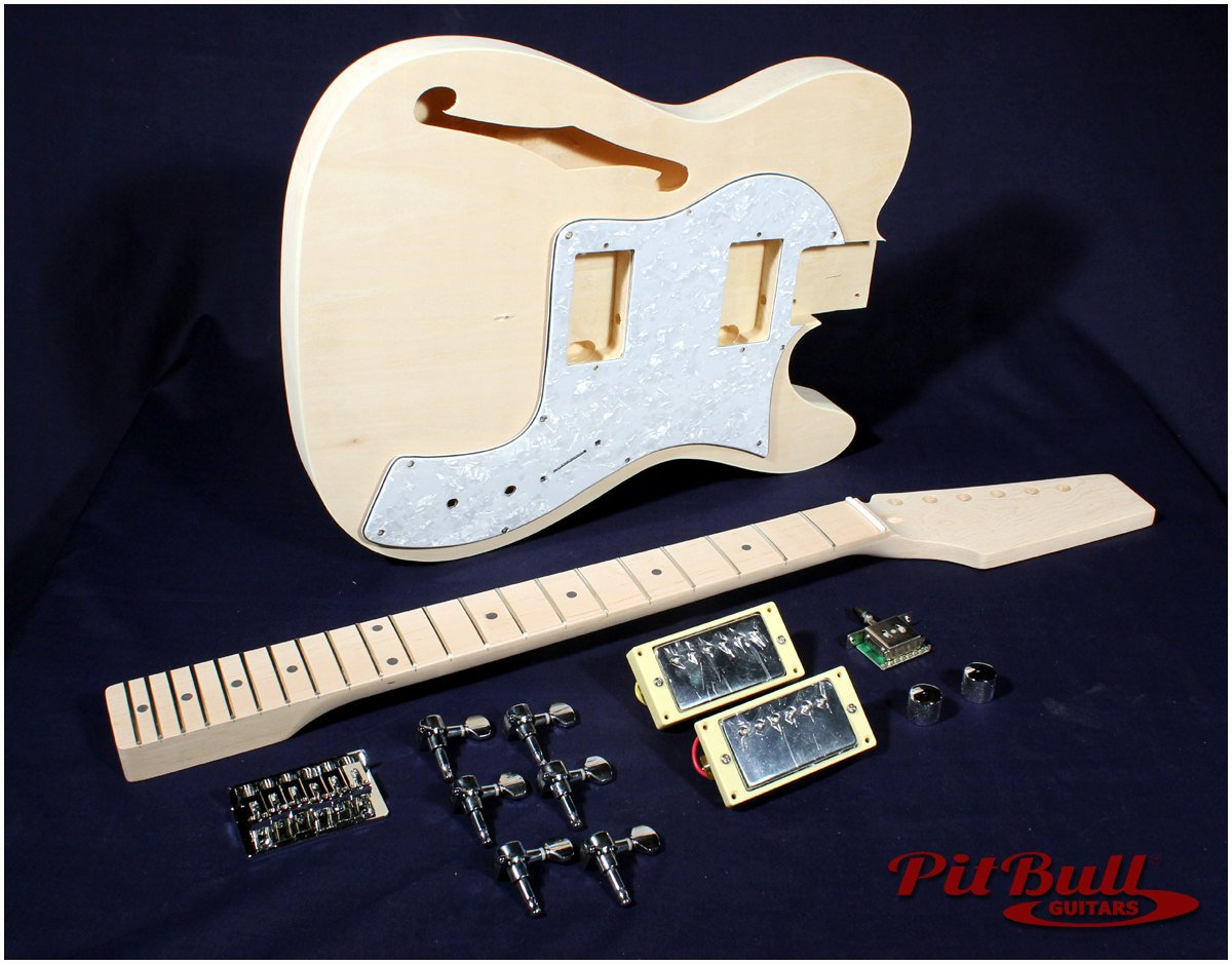 Quality Guitar Building Kits