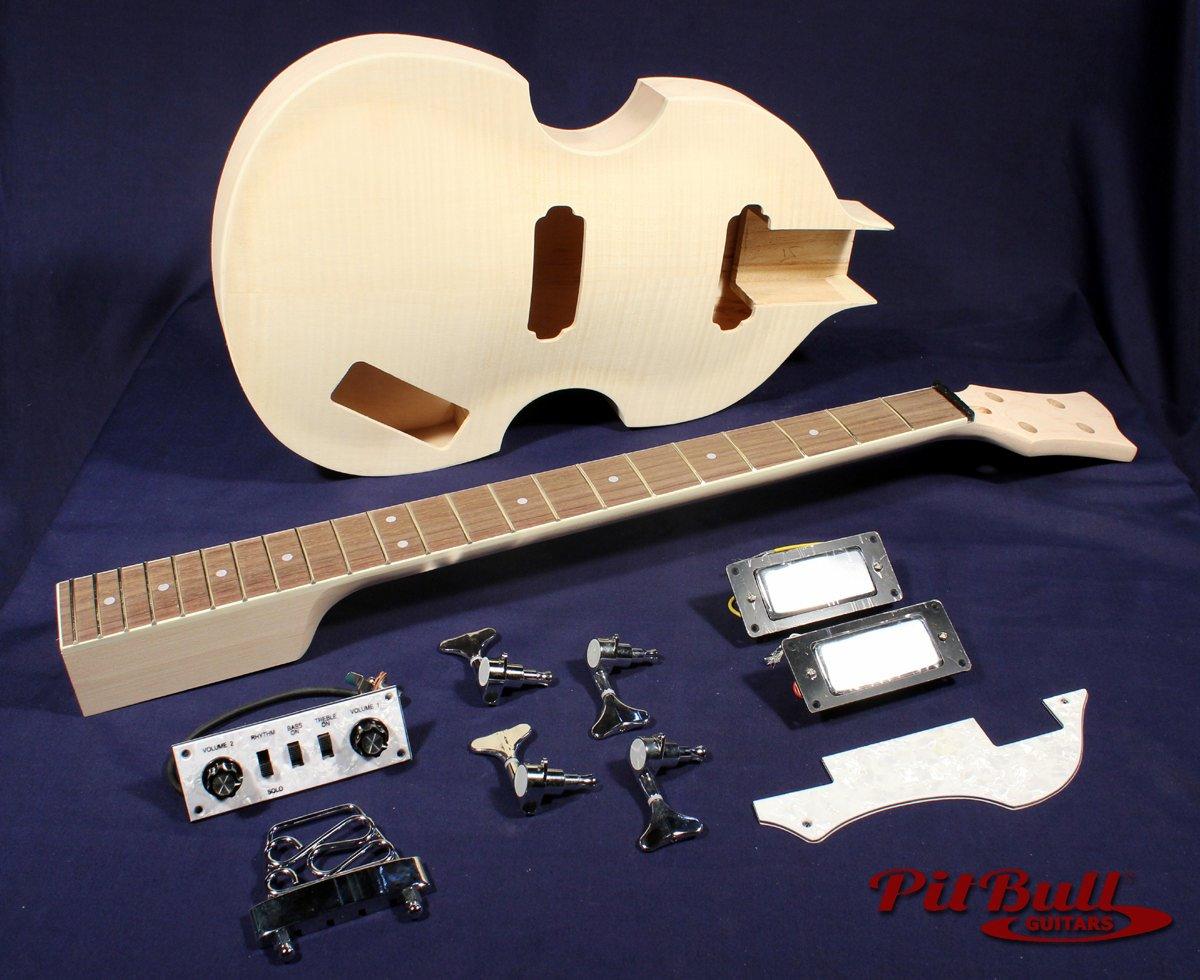 pit bull guitars hb 4 electric bass guitar kit pit bull. Black Bedroom Furniture Sets. Home Design Ideas