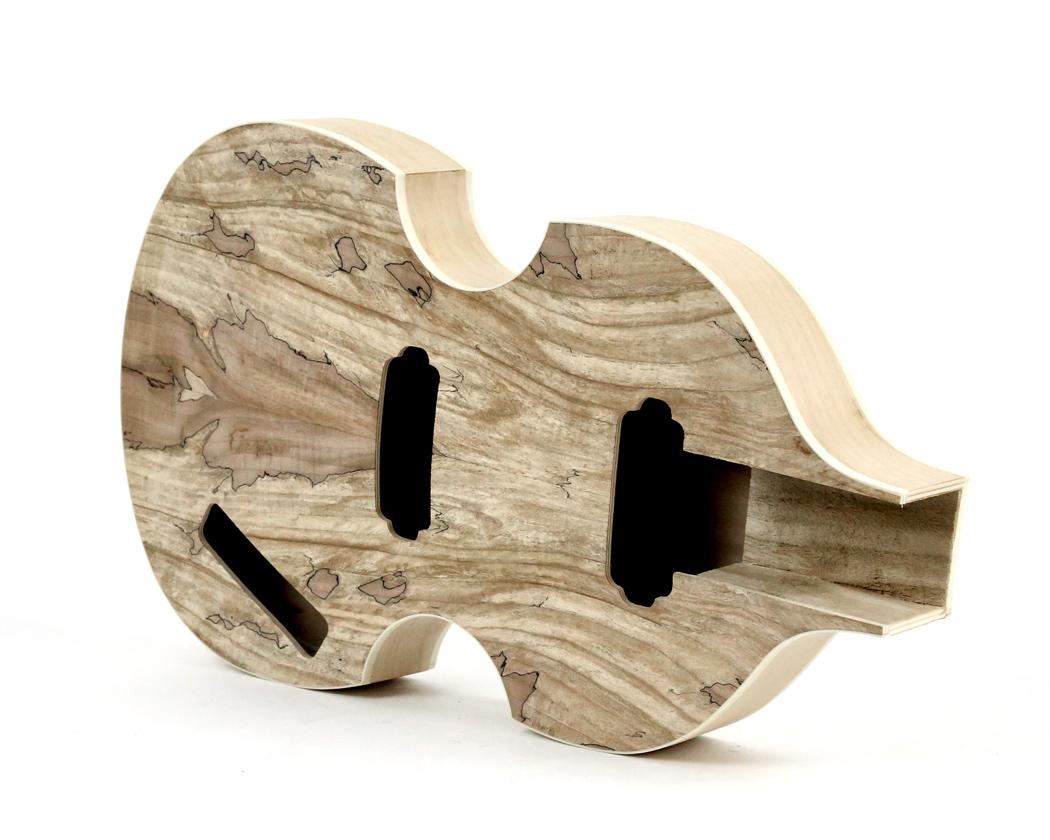Pit Bull Guitars HBS Electric Bass Guitar Kit Pit Bull Guitars - Hofner bass wiring diagram
