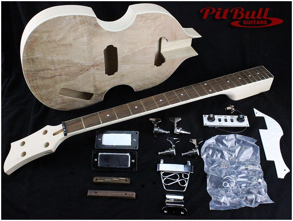 pit bull guitars hb 4s electric bass guitar kit pit bull. Black Bedroom Furniture Sets. Home Design Ideas