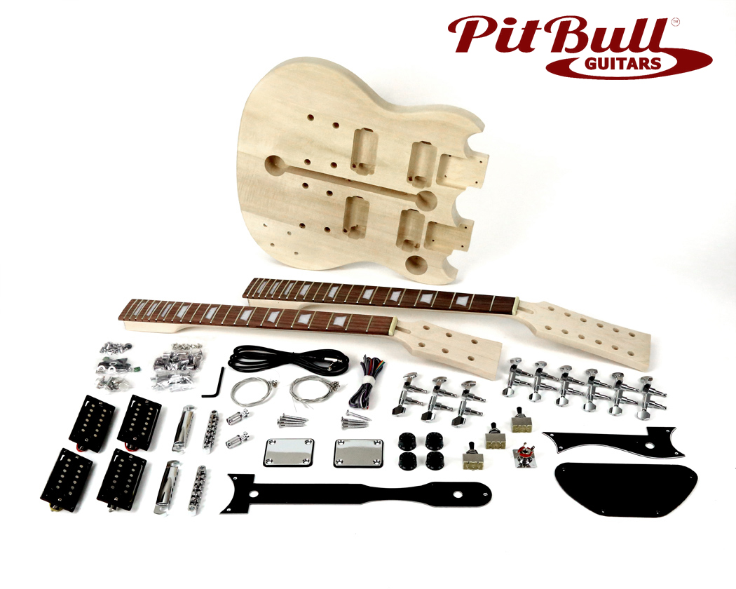 double neck guitar kit wiring diagram wiring diagram pit bull guitars sgd 612 electric guitar kit double neck