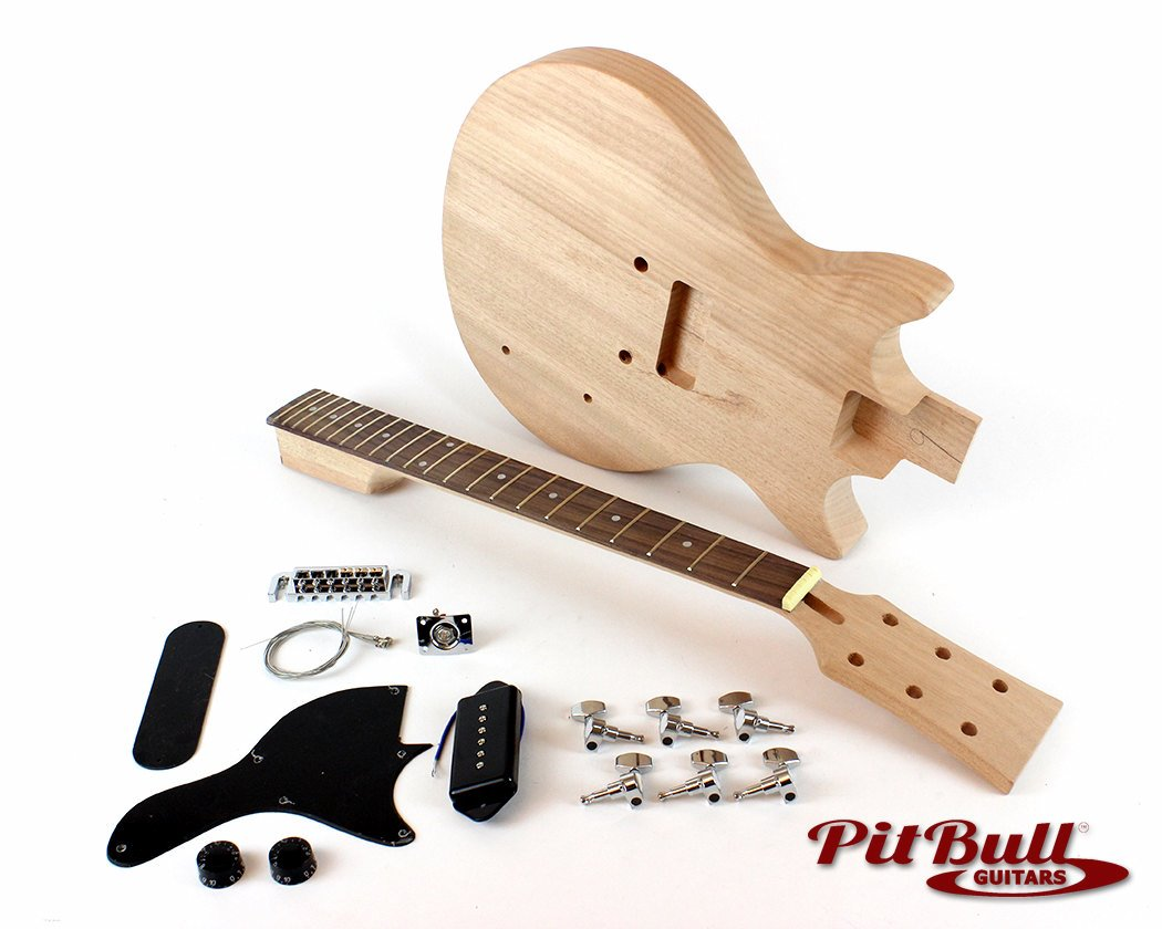 pit bull guitars jr 1m electric guitar kit pit bull guitars. Black Bedroom Furniture Sets. Home Design Ideas