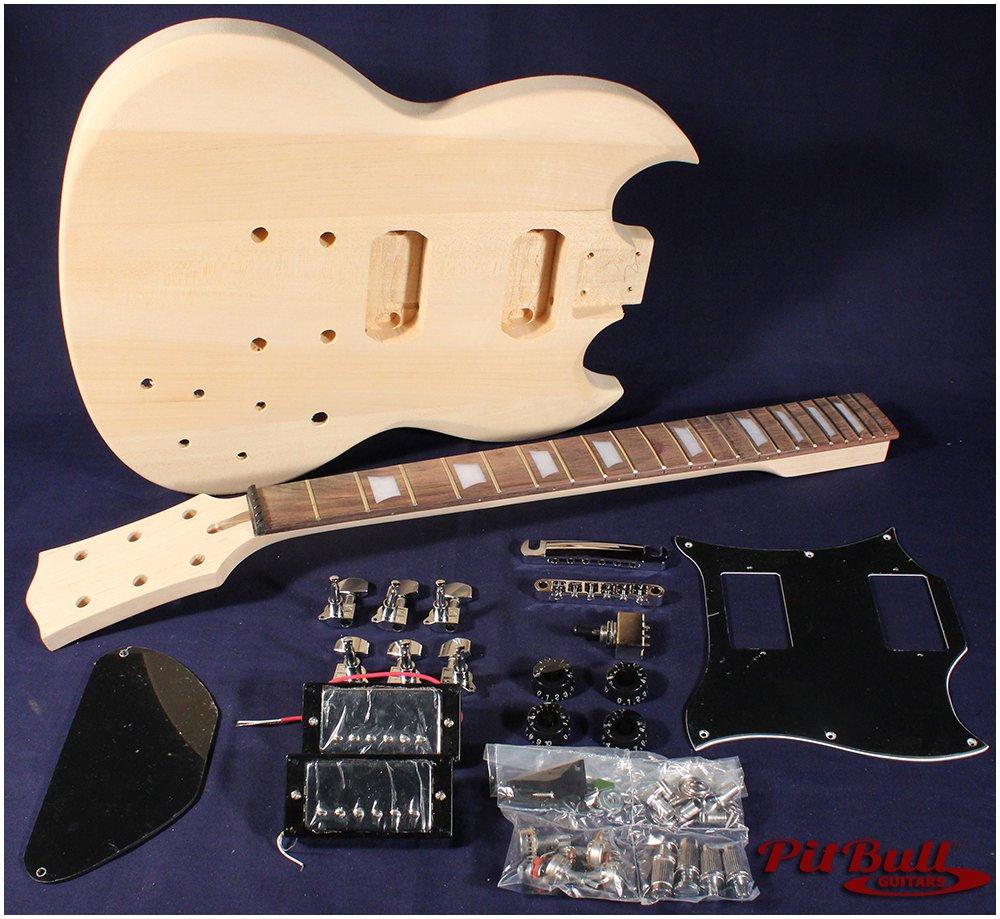 pit bull guitars sg 2 electric guitar kit pit bull guitars. Black Bedroom Furniture Sets. Home Design Ideas