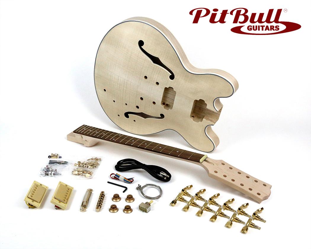 pit bull guitars es 12g electric guitar kit 12 string. Black Bedroom Furniture Sets. Home Design Ideas