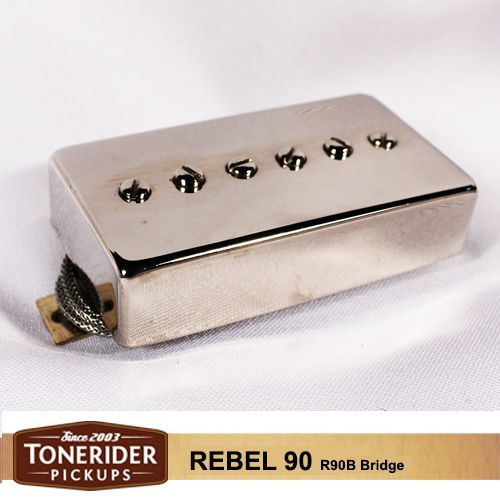 tonerider r90b rebel 90 bridge nickel pit bull guitars tonerider r90b rebel 90 bridge nickel