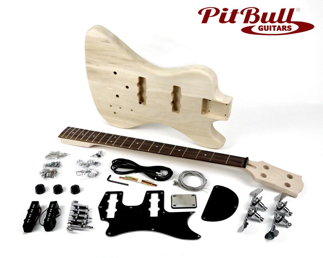 opinions on pitbull guitars diy kits bass arena. Black Bedroom Furniture Sets. Home Design Ideas