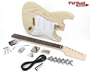 Incredible Unfinished Kits Pit Bull Guitars Wiring 101 Swasaxxcnl