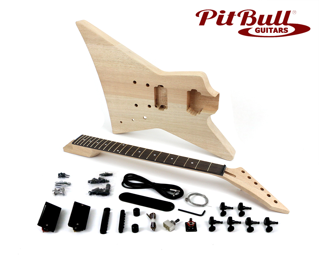ESPM 1 pit bull guitars espm 1 electric guitar kit (mahogany body) pit pitbull guitars wiring diagram at readyjetset.co