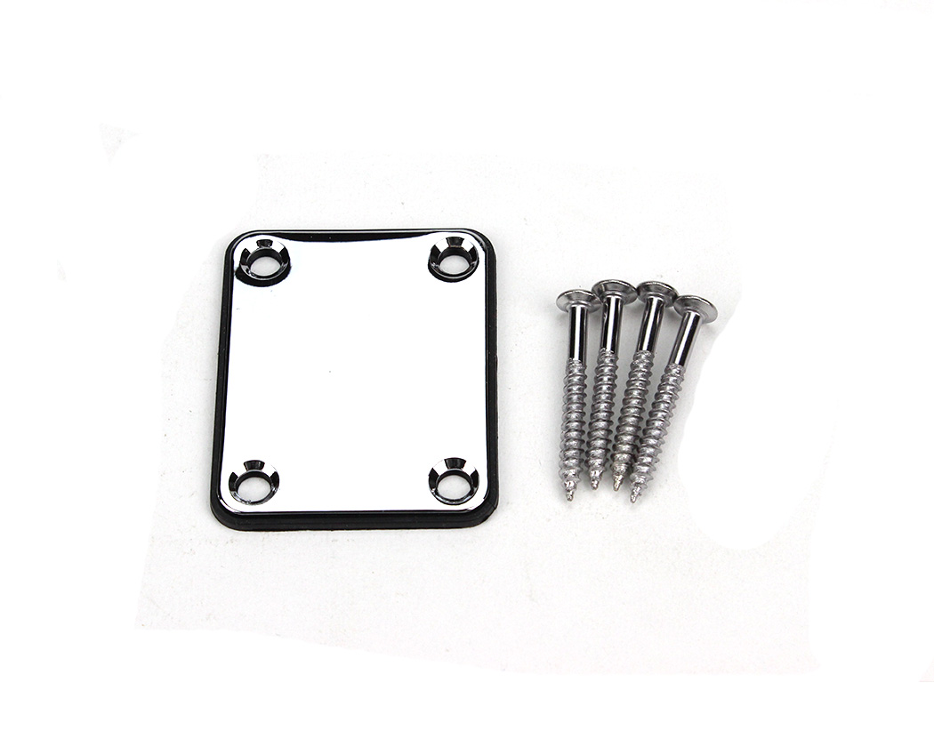 pbg neck plate w  screws - chrome