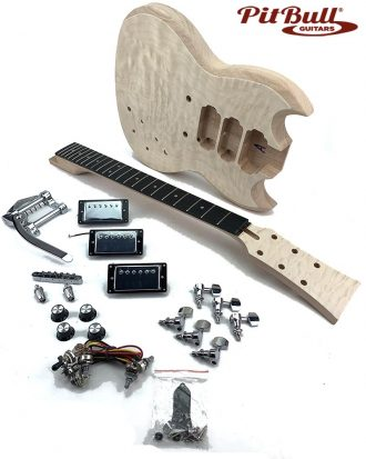 Phenomenal Pit Bull Guitars Build And Customise Your Own Electric Guitar Wiring 101 Swasaxxcnl