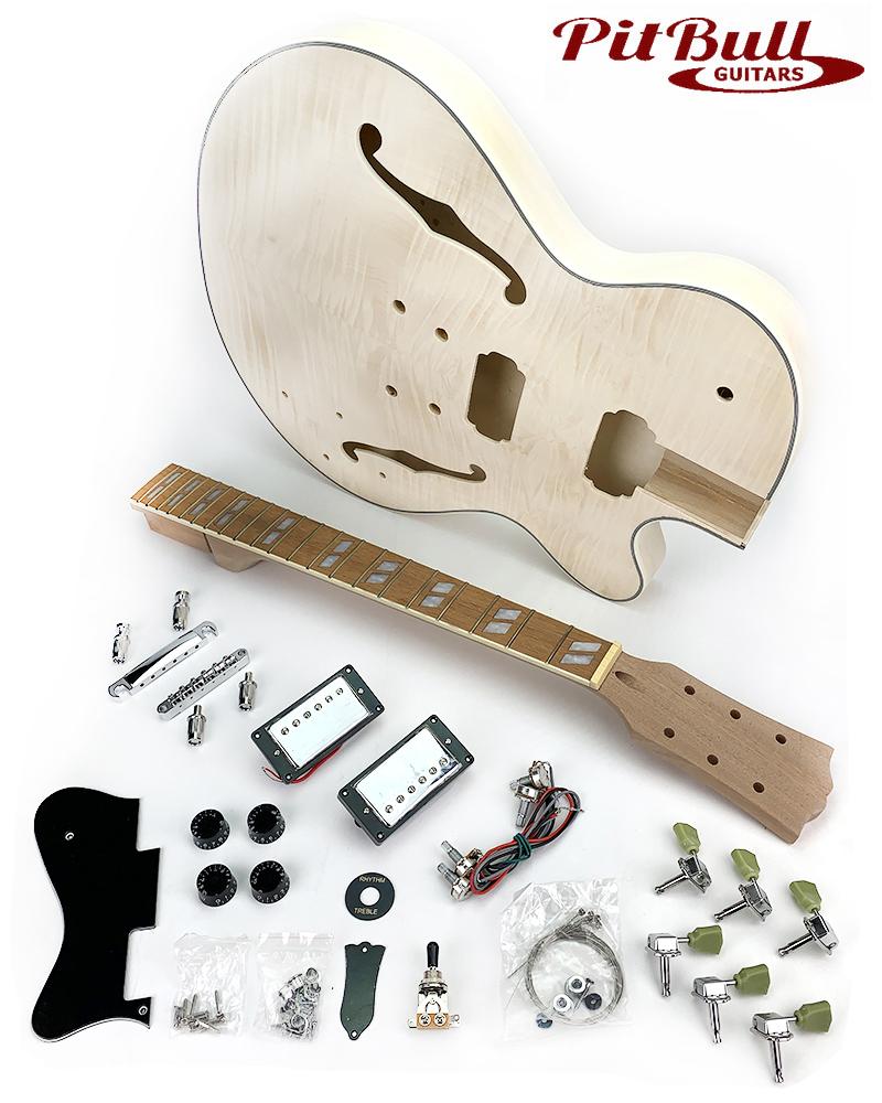 Pit Bull Guitars Aes 1 Electric Guitar Kit